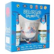 Kit Delirium Tremens 2 Cervejas e 1 Taça