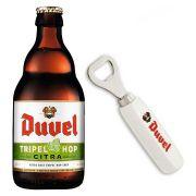 Kit Duvel Tripel Hop Citra com Abridor Gratuito