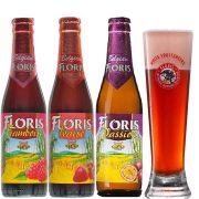 Kit Floris 3 Cervejas com Copo