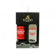 Kit Fuller's com Cerveja London Pride e Copo de 568 ml