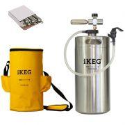 Kit Ikeg 10 Litros com Torneira de Plástico e Bolsa Térmica e CO2