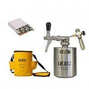 Kit Ikeg de 2 Litros com Torneira Italiana e Bolsa Térmica e Co2
