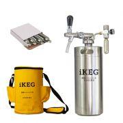 Kit Ikeg de 4 Litros com Torneira Italiana e Bolsa Térmica e Co2