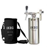 Kit Ikeg de 4 Litros com Torneira Italiana e Bolsa Térmica Preta