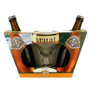 Kit Orval 2 Cervejas com Taça