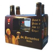 Kit St Bernardus 4 Cervejas com Taça