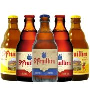 Kit St Feuillien contendo 5 Cervejas