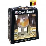 Kit Tripel Karmeliet com 4 Cervejas e 1 Taça