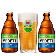 Kit Vedett Extra Session Ipa com Copo