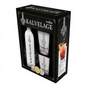 Kit Vodka Kalvelage com 2 Copos