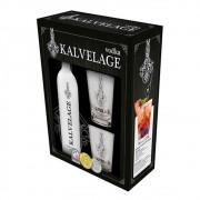 Kit Vodka Kalvelage com Copos