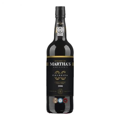 Vinho Martha's Colheita Porto 2006 com Caixa 750 ml