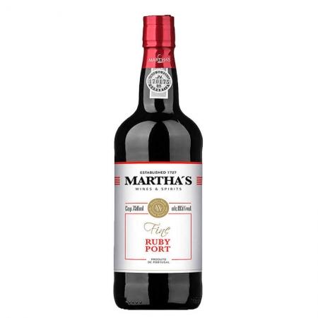 Vinho Martha's Fine Ruby Porto 750 ml