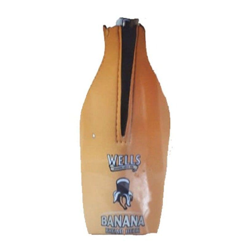 Bolsa Térmica Wells Banana Bread para Garrafa de 330 ml
