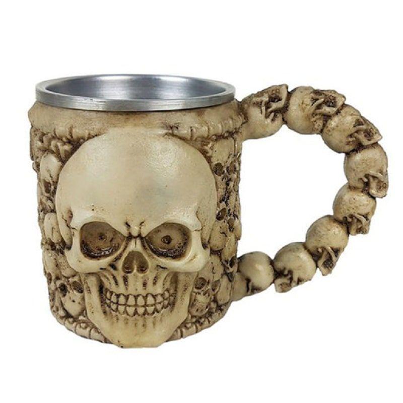 Caneca Medieval Cranio 350 ml
