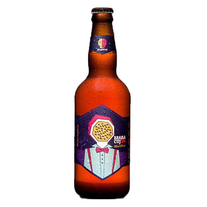 Cerveja 2Cabeças Maracujipa 500 ml