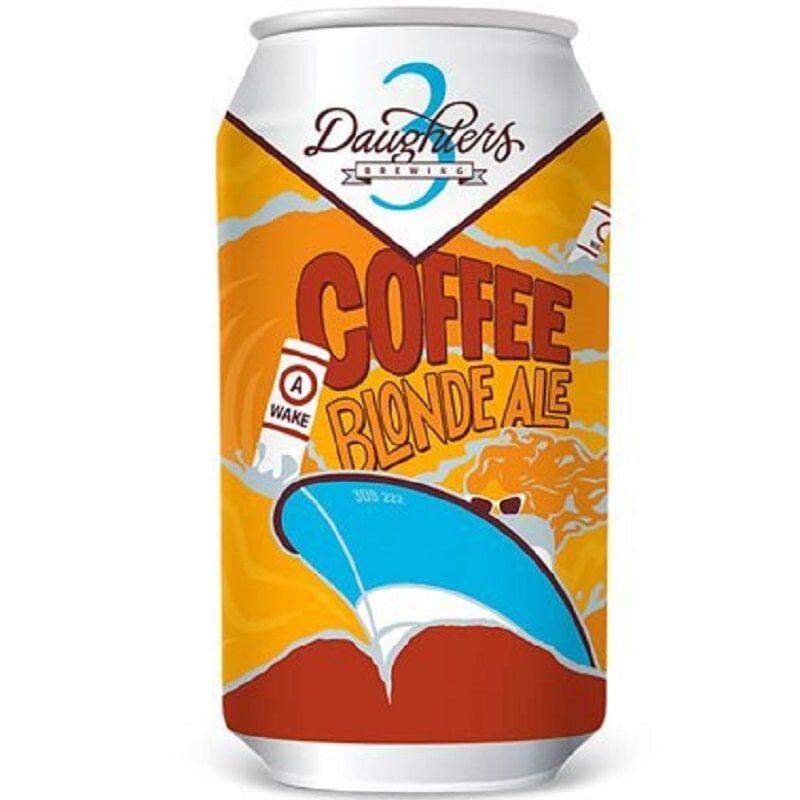 Cerveja 3Daughters Coffee Blonde Lata 500 ml