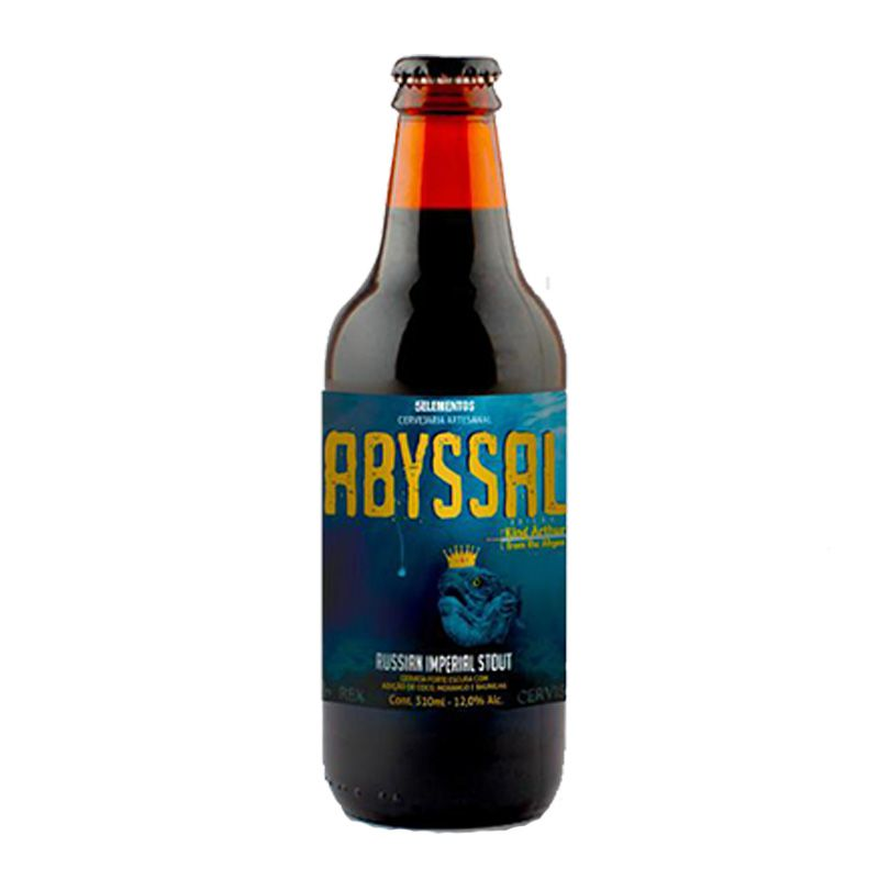 Cerveja 5 Elementos Abyssal King Arthur From The Abyss 310 ml