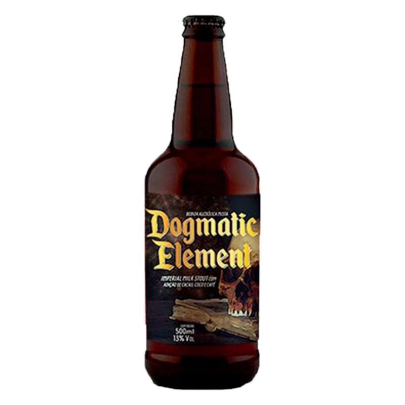 Cerveja 5 Elementos e Dogma Dogmatic Element 2020 500 ml
