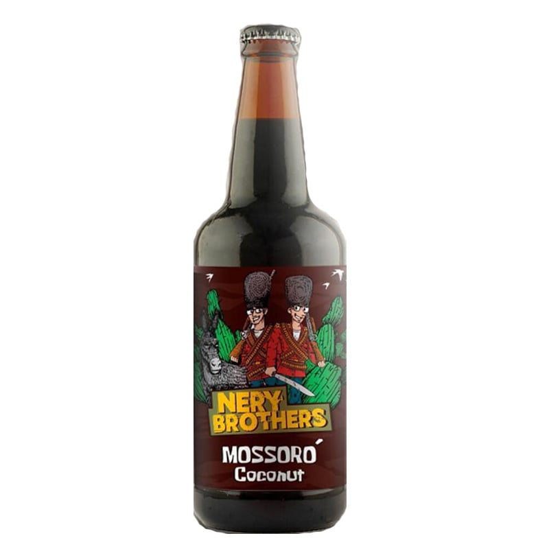 Cerveja 5 Elementos e Nery Brothers Mossoró Coconut 500 ml