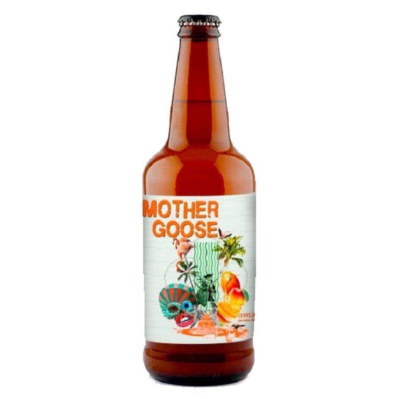 Cerveja 5 Elementos e Octopus Mother Goose 500 ml