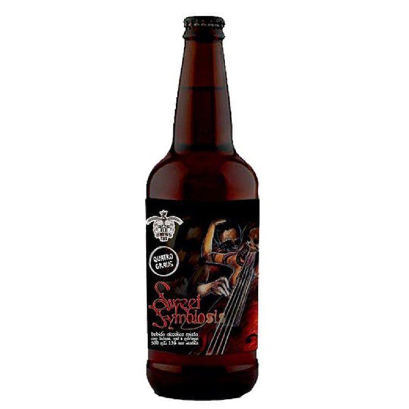 Cerveja 5 Elementos e Quatro Graus Sweet Symbiosis 500 ml
