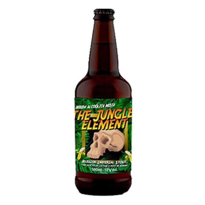 Cerveja 5 Elementos + Three Monkeys The Jungle Element 500 ml