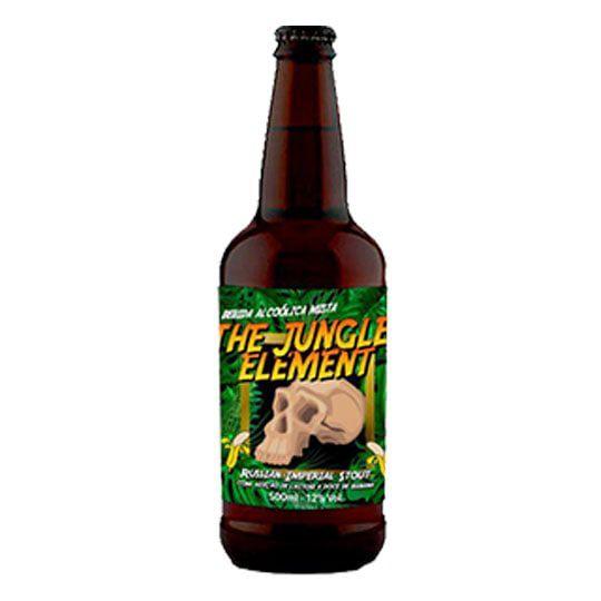 Cerveja 5Elementos + Three Monkeys The Jungle Element 500 ml