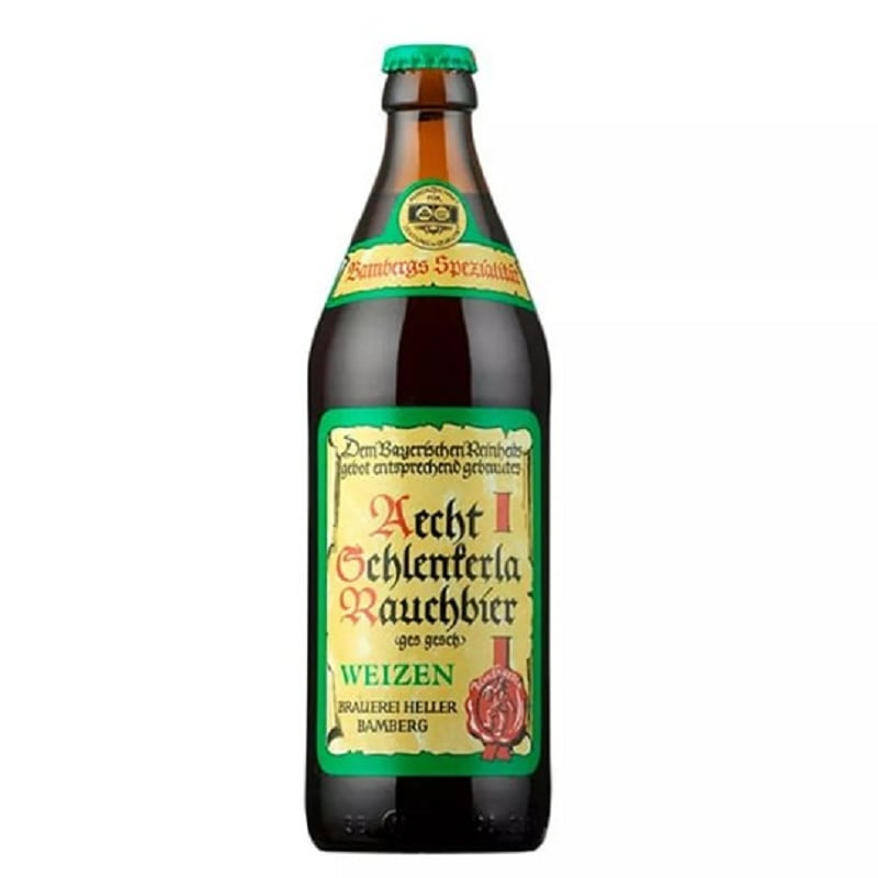 Cerveja Aecht Schlenkerla Rauchbier Weizen 500 ml