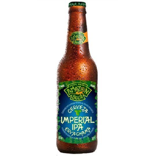 Cerveja Amazon Beer com Erva Chama 355 ml