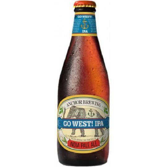 Cerveja Anchor Go West Ipa 355 ml