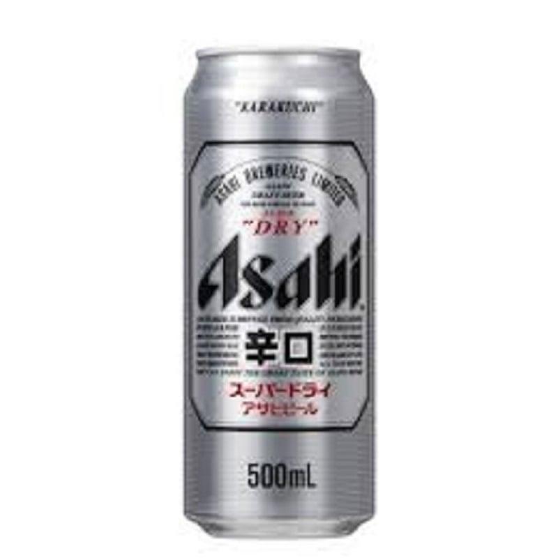 Cerveja Asahi Super Dry Lata 500 ml