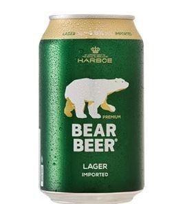 Cerveja Bear Beer Premium Lager Lata 330 ml