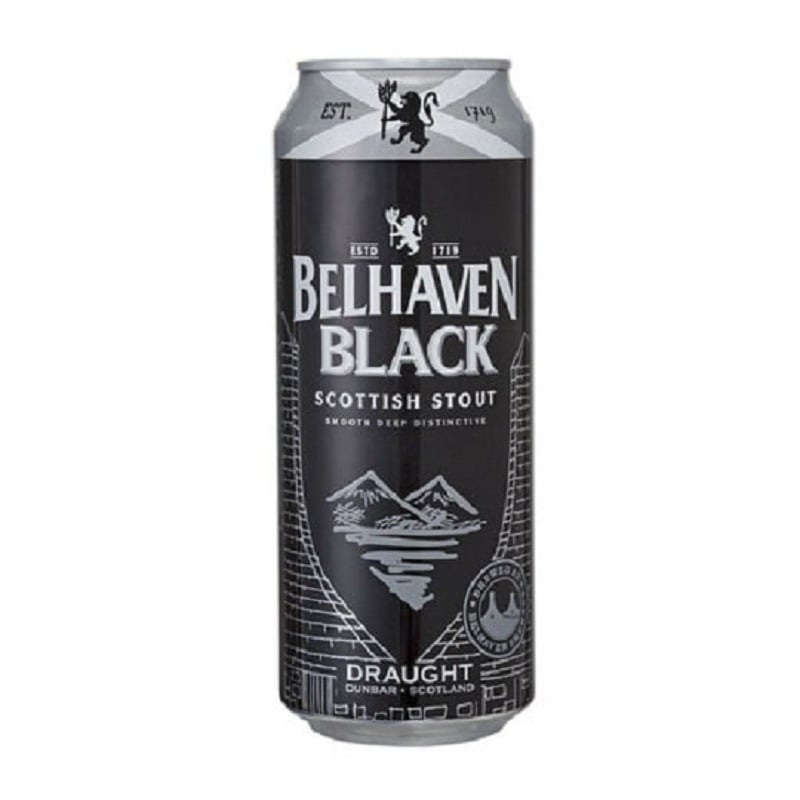 Cerveja Belhaven Black Scottish Stout Lata 440 ml