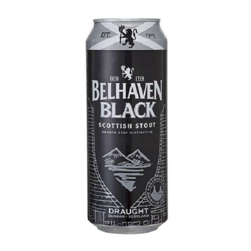 Cerveja Belhaven Black Scottish Stout Lata 440 ml