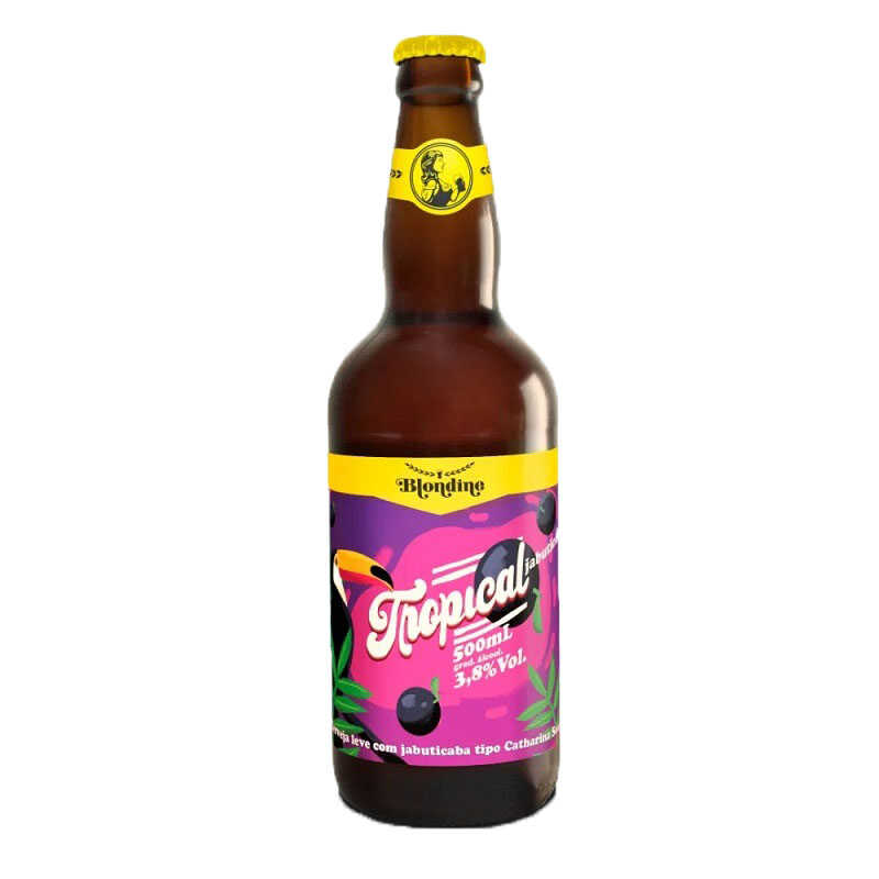 Cerveja Blondine Tropical Jabuticaba 500 ml