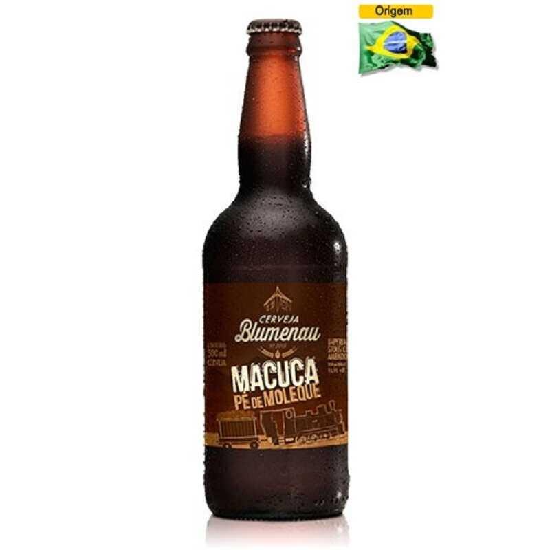Cerveja Blumenau Macuca Pé de Moleque 500 ml