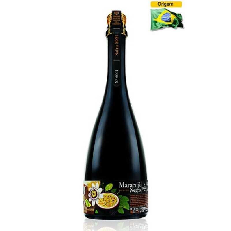 Cerveja Blumenau Mestres do Tempo Maracujá Negro 750 ml