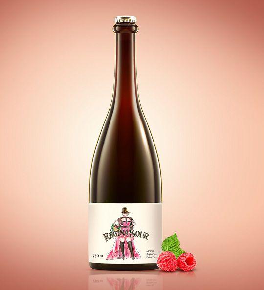 Cerveja Bodebrown Regina Sour Framboesa 750 ml