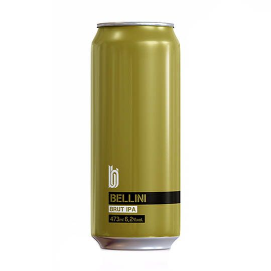 Cerveja Bold Bellini Brut Ipa Lata 473 ml