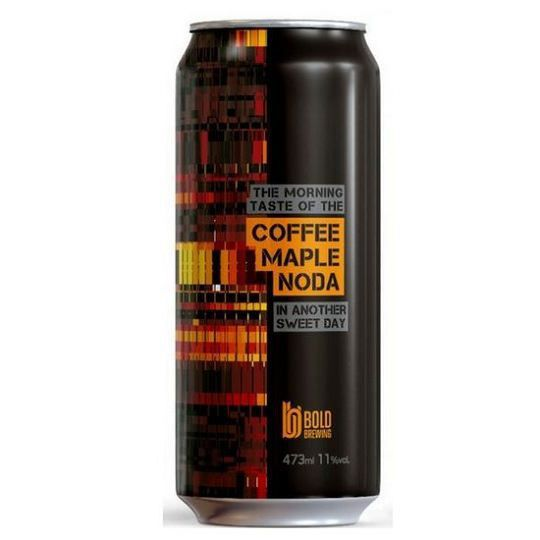Cerveja Bold Coffee Maple NODA Lata 473 ml