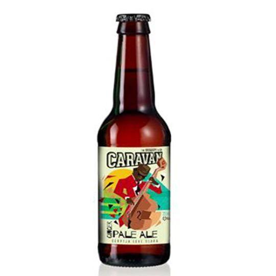 Cerveja Caravan Ginger Pale Ale 500 ml