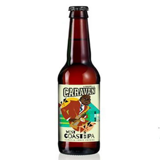 Cerveja Caravan West Coast Citrus Ipa 500 ml