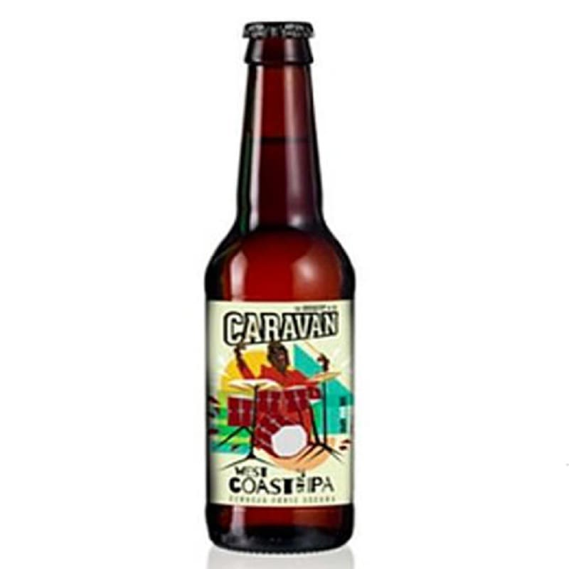 Cerveja Caravan West Coast Style Ipa 500 ml