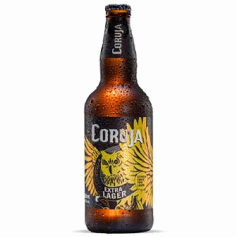 Cerveja Coruja Extra Lager 500 ml