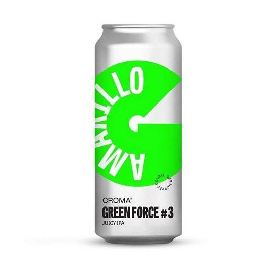 Cerveja Croma Force #3 Amarillo Lata 473 ml
