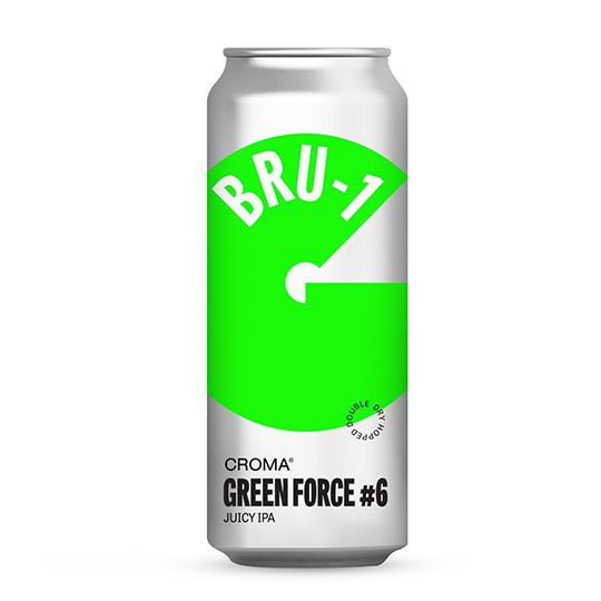 Cerveja Croma Green Force #6 BRU-1 Lata 473 ml