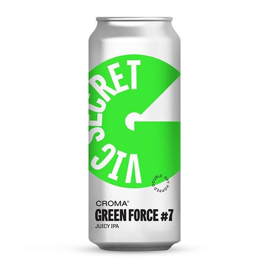 Cerveja Croma Green Force #7 Vic Secret Lata 473 ml