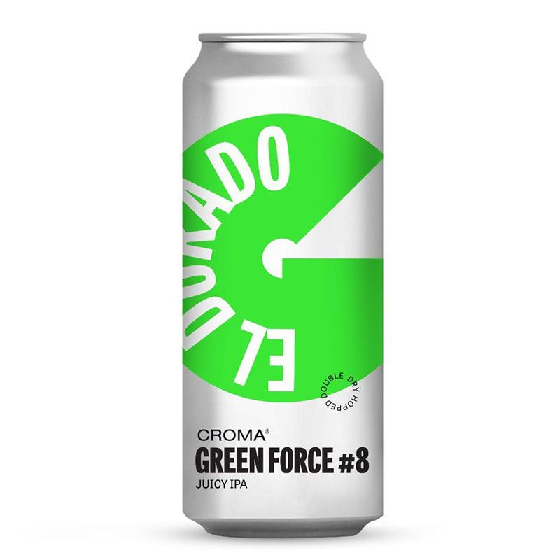 Cerveja Croma Green Force #8 El Dorado Lata 473 ml