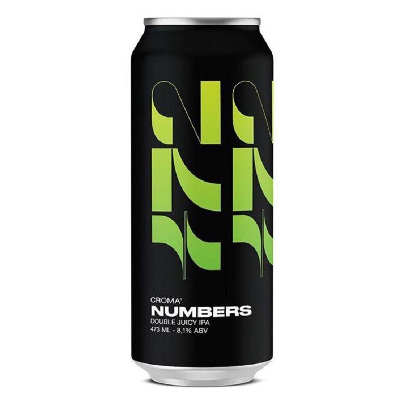 Cerveja Croma Numbers Double Juicy Ipa Lata 473 ml